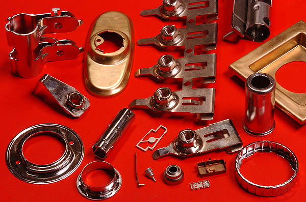 Custom Metal Stamping Services Medium To High Volume